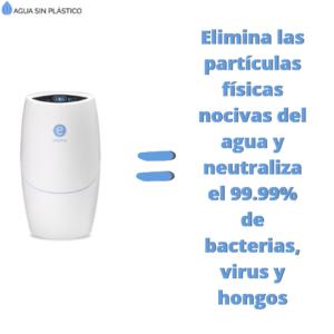 Espring elimina partículas nocivas y materia orgánica